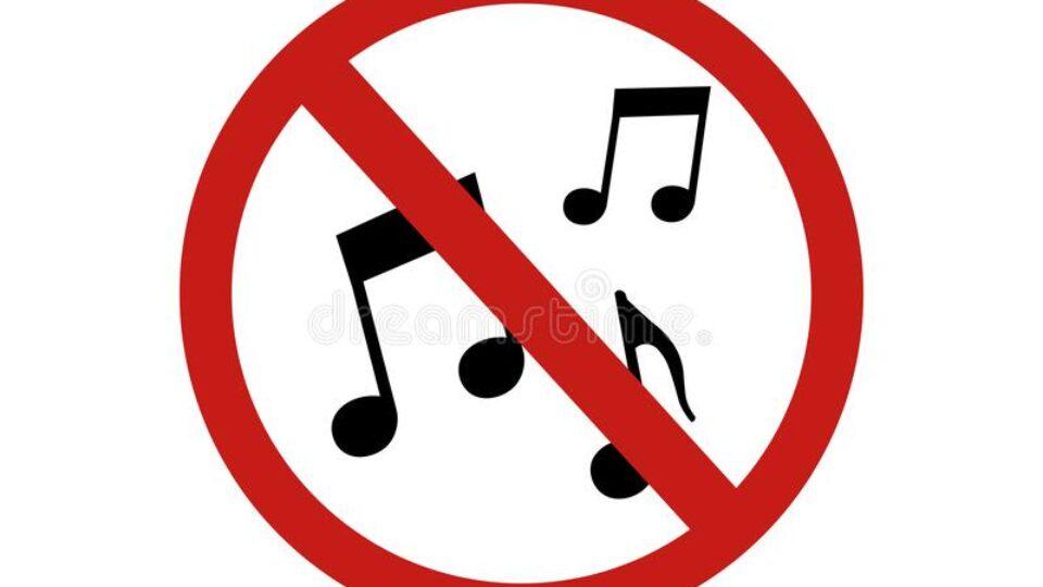 знак-запрещенной-музыки-значка-рисунок-вектора-значок-179891038